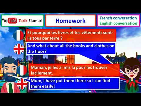 french to english  conversations   dialogue N 11