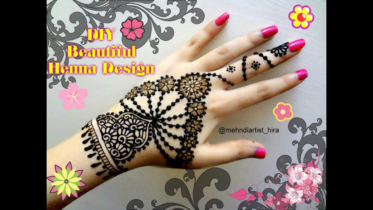 Latest mehndi designs 2016 2017 top 47 mehndi styles - Easy Simple Beautiful Henna Mehndi Designs For Hands Tutorial Jewelry Inspired For Eid Weddings Youtube
