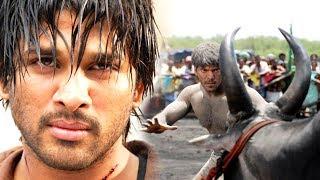 allu Arjun Most Popular Power Pack Action And Chasing Scenes || التيلجو أفضل مشاهد العمل