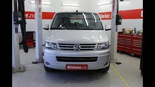 VW Transporter / Caravelle: Hvordan bytte styreservopumpe 2.5TDI - AXD/BNZ motor (T5)