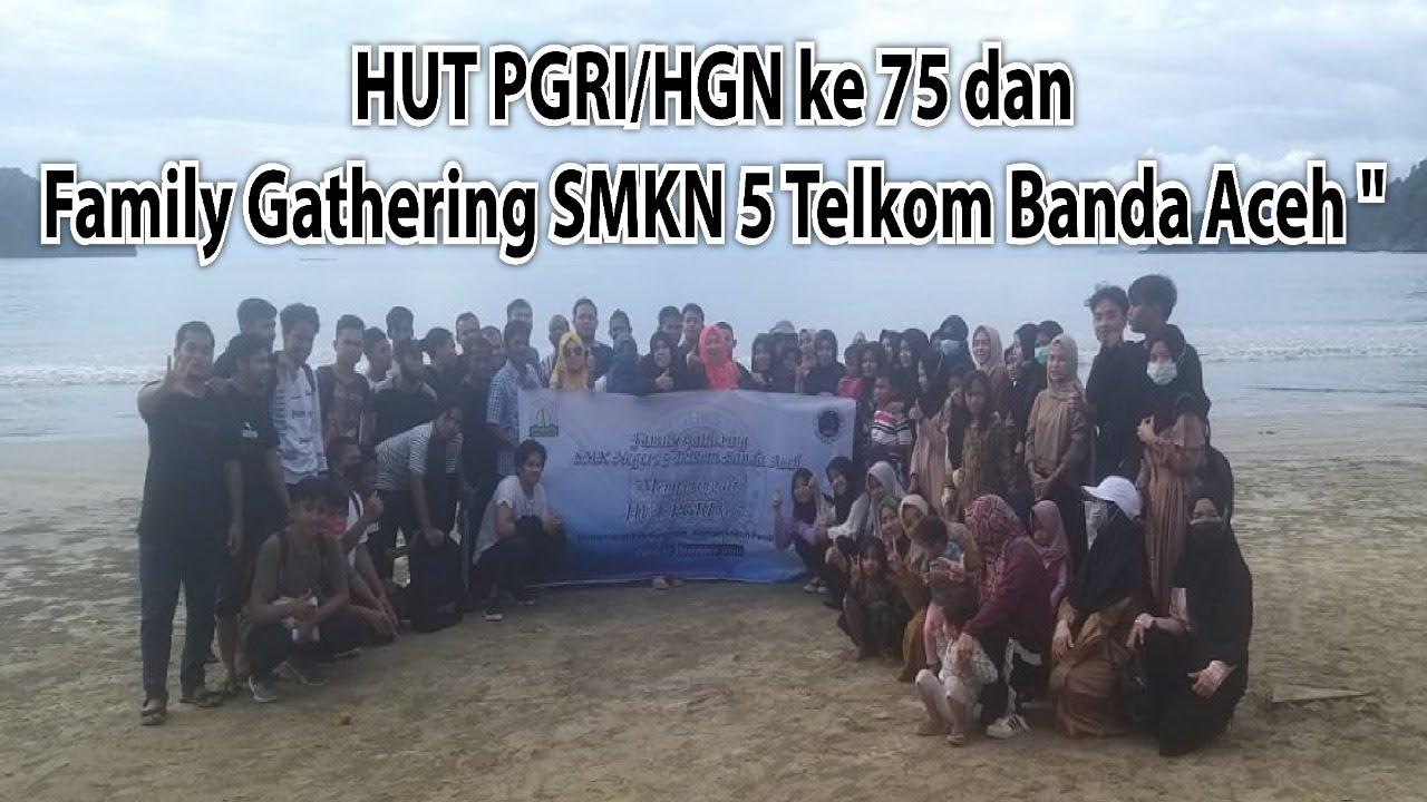 Hari Bahagia Warga Smk Negeri 5 Telkom Banda Aceh Youtube