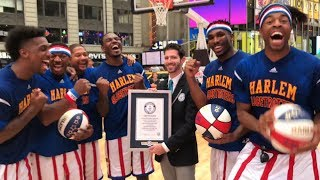 All 16 Harlem Globetrotters Guinness World Records