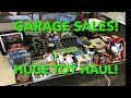 Garage Sale Haul! Toys, Video Games & More!