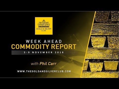 WEEK AHEAD COMMODITY REPORT: 5-9, November 2018: Gold, Silve