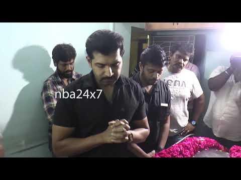 Cinematographer Priyan is No More   Hari   Vijayakumar   Arun Vijay   nba 24x7
