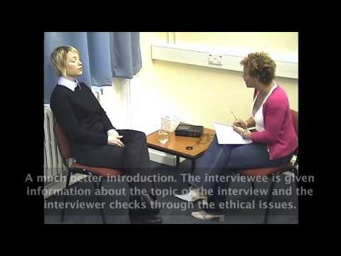 How to do a research interview