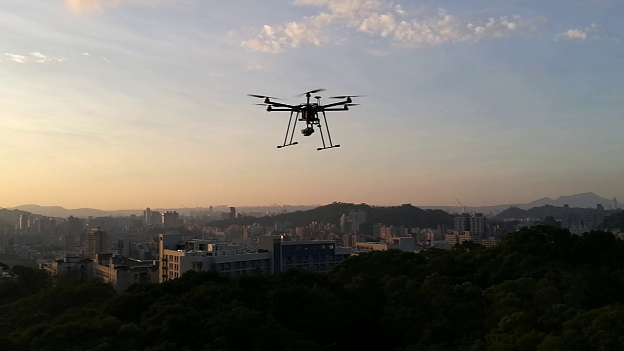 Drone Dynamics X6-Plus Hovering Stability Test