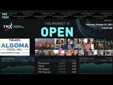 阿尔戈马钢铁集团公司实际上开放市场