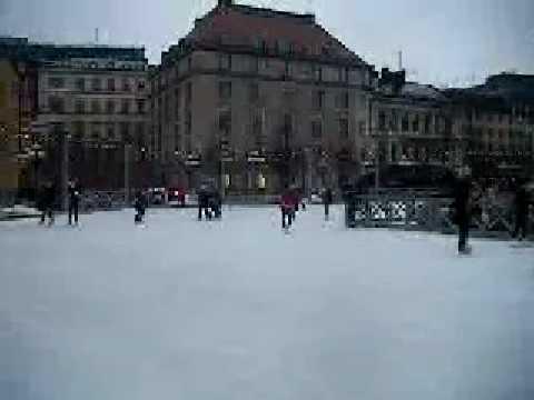 التزلج على الجليد في ستوكهولم Ski in stockholm