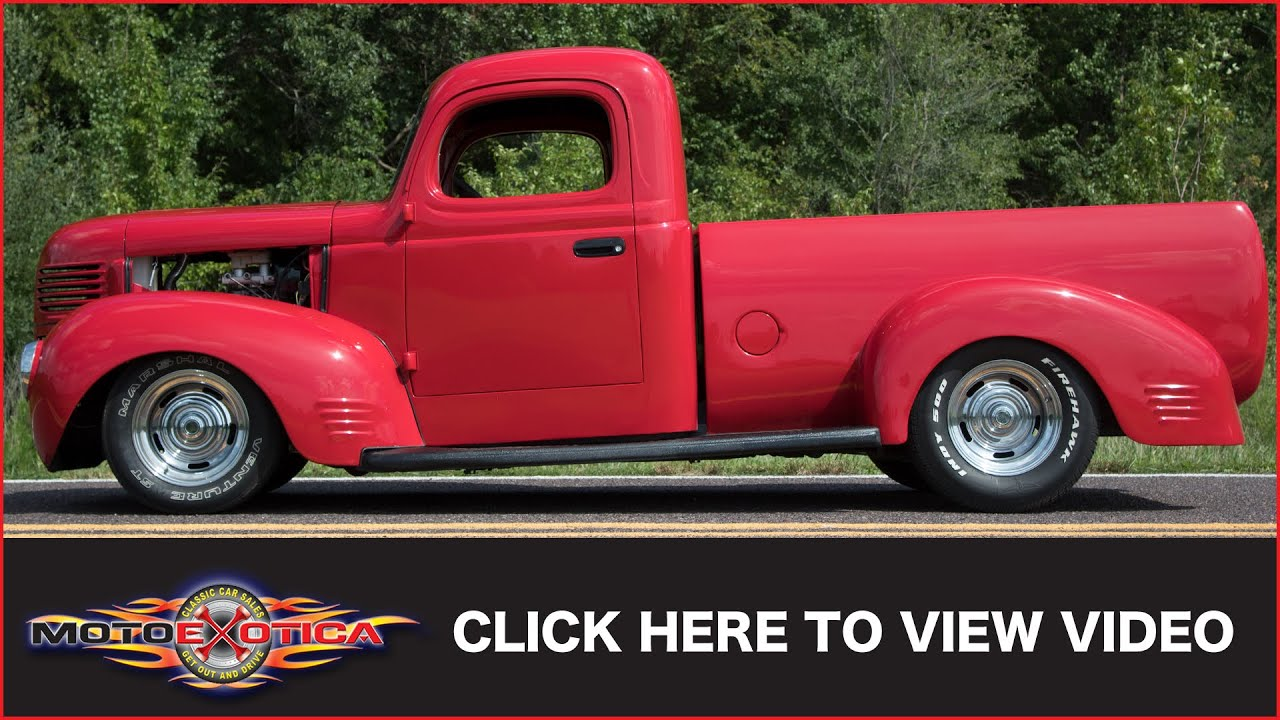 1941 Dodge Truck Sold Youtube