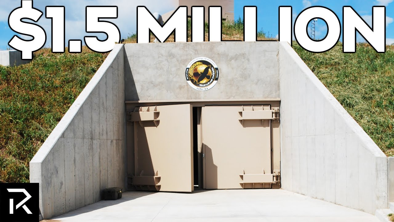Inside The Most Expensive Billionaire Bunkers