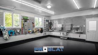 Proslat Slatwall Ad : Infinite possibilities! Storage solutions for whatever life throws at you