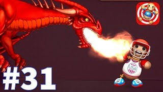 Kick The Buddy - Gameplay Walkthrough Part 31 - New Fire Dragoin (iOS)