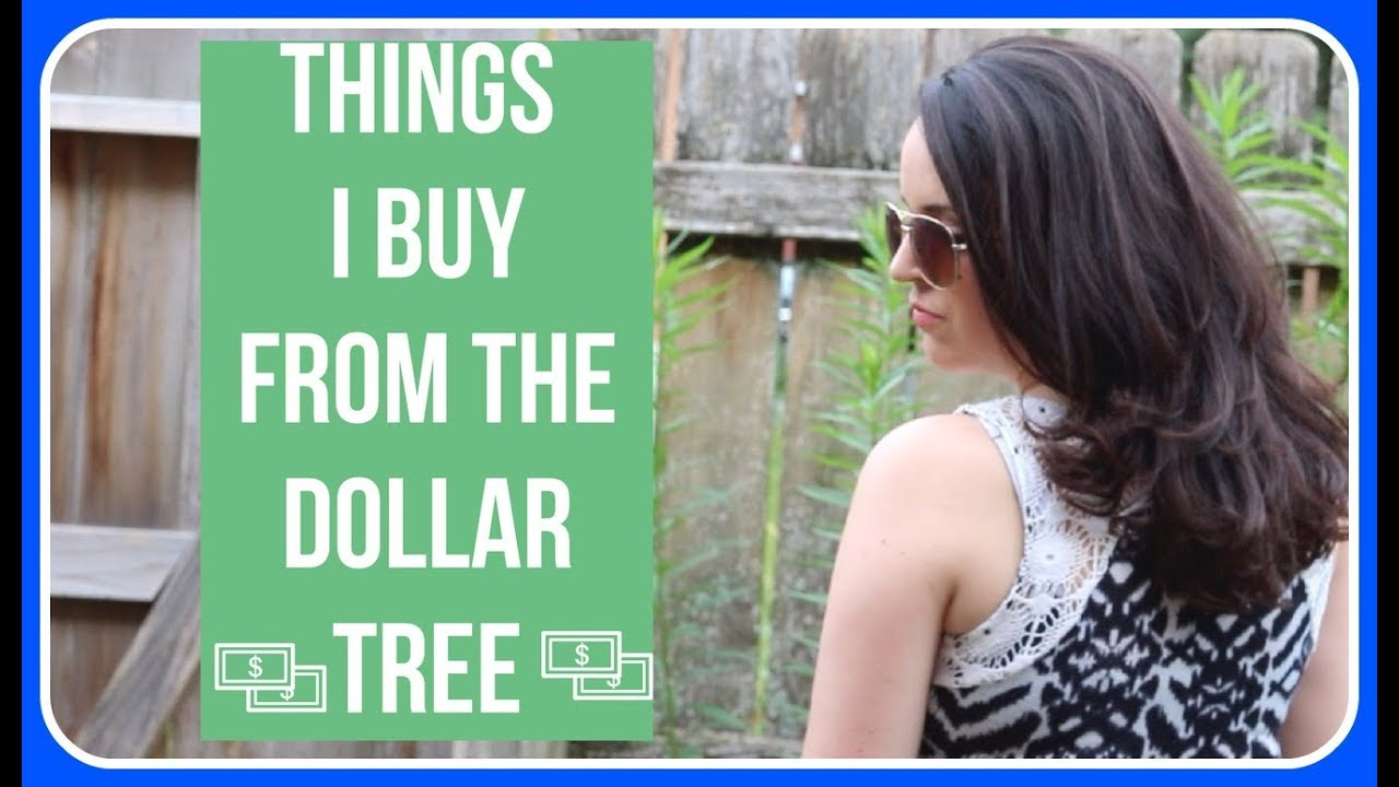 Things I Buy From The Dollar Tree // Best Dollar Tree Products - YouTube