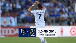 SLO-MO GOAL: Romain Alessandrini with a picture perfect free kick against San Jose Earthquakes