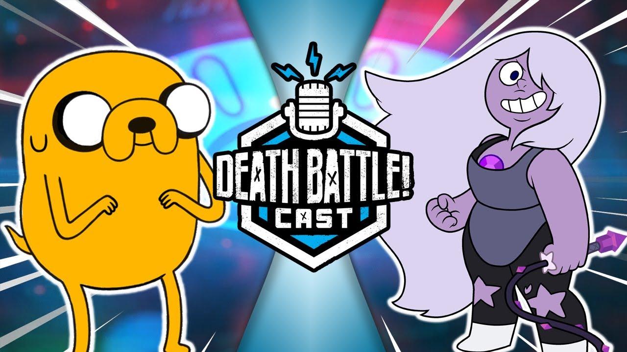 Jake vs Amethyst   DEATH BATTLE Cast #224