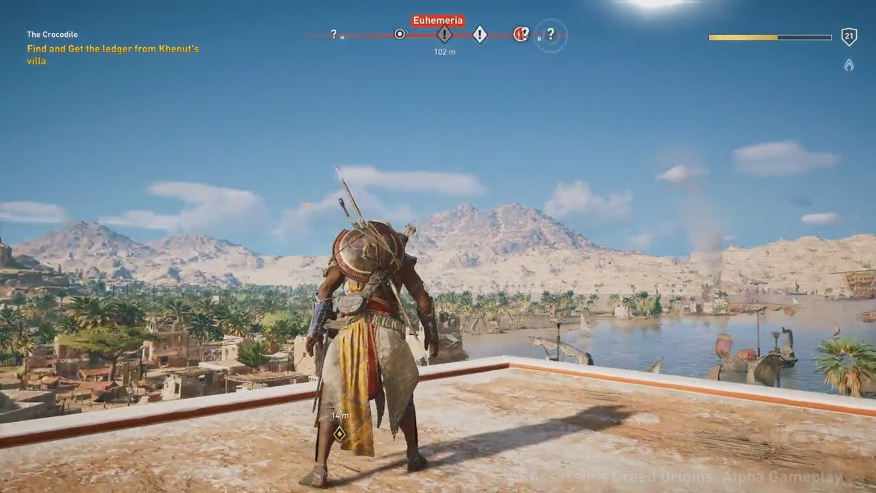 Assassins Creed Origins 20 Minutes Of Exclusive Walkthrough