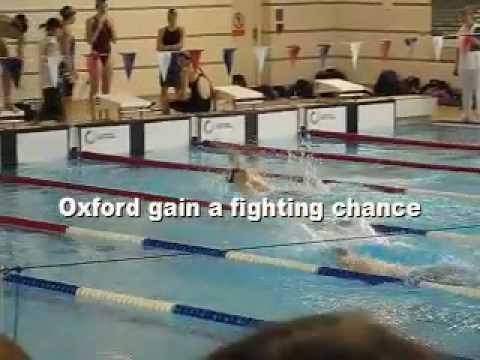Snow patrol, chasing cars. Oxford University Swimming club
