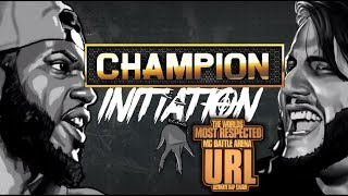 CHAMPION | B DOT VS MIKE P - INITIATION - SMACK/URL