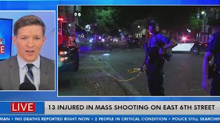 13 injured after mass shooting in downtown Austin