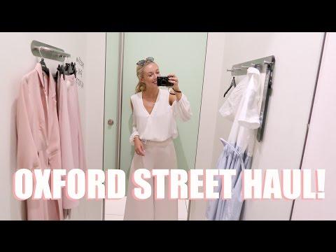 COME SHOPPING WITH ME!    Oxford Street Haul!  |     Topshop, Miss Selfridge, Zara....