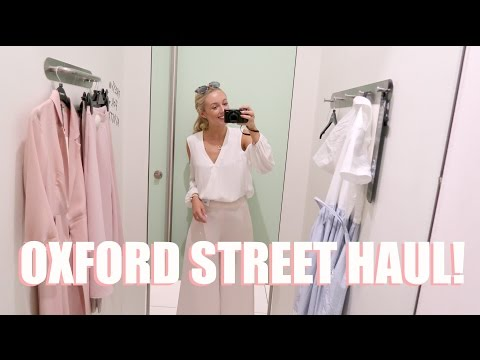 COME SHOPPING WITH ME!    Oxford Street Haul!  |     Topshop, Miss Selfridge, Zara....