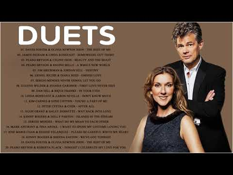 David Foster, Peabo Bryson, James Ingram, Dan Hill, Kenny Rogers - Best Duets Male and Female Songs