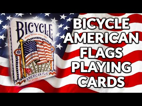 Deck Review - Bicycle American Flag Playing Cards [HD]