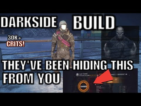 The Division:THE DARKSIDE BUILD 100K+SCORES