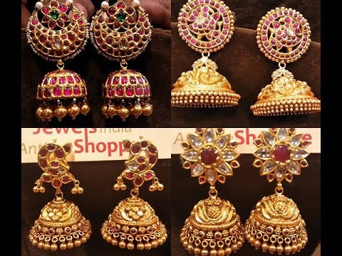 Temple Jewellery Jhumka Designs & Where to Shop Them
