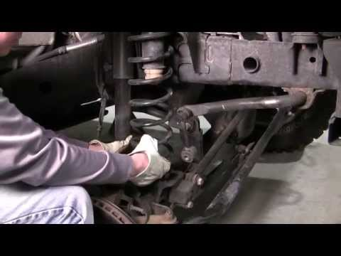How to Install Front and Rear Lift Spacers on a Jeep Wrangler JK