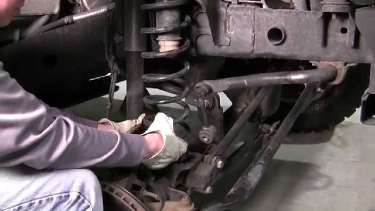 How To Install Front And Rear Lift Spacers On A Jeep