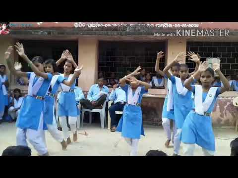 Suna jhulana Re jhuluchi Dekha kanhei...New bhajan dance..👉(Rock Chintu)👈