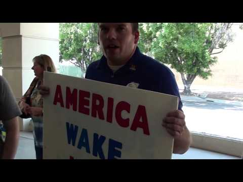 Trump Supporters Visit CA Immigration Office to THANK Immigration Officers!