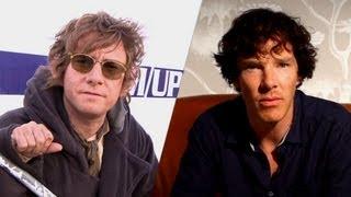 Sherlock's Martin Freeman & Benedict Cumberbatch; Comic-Con 2013