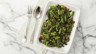 Sauteed Asparagus with Bacon Video- Martha Stewart