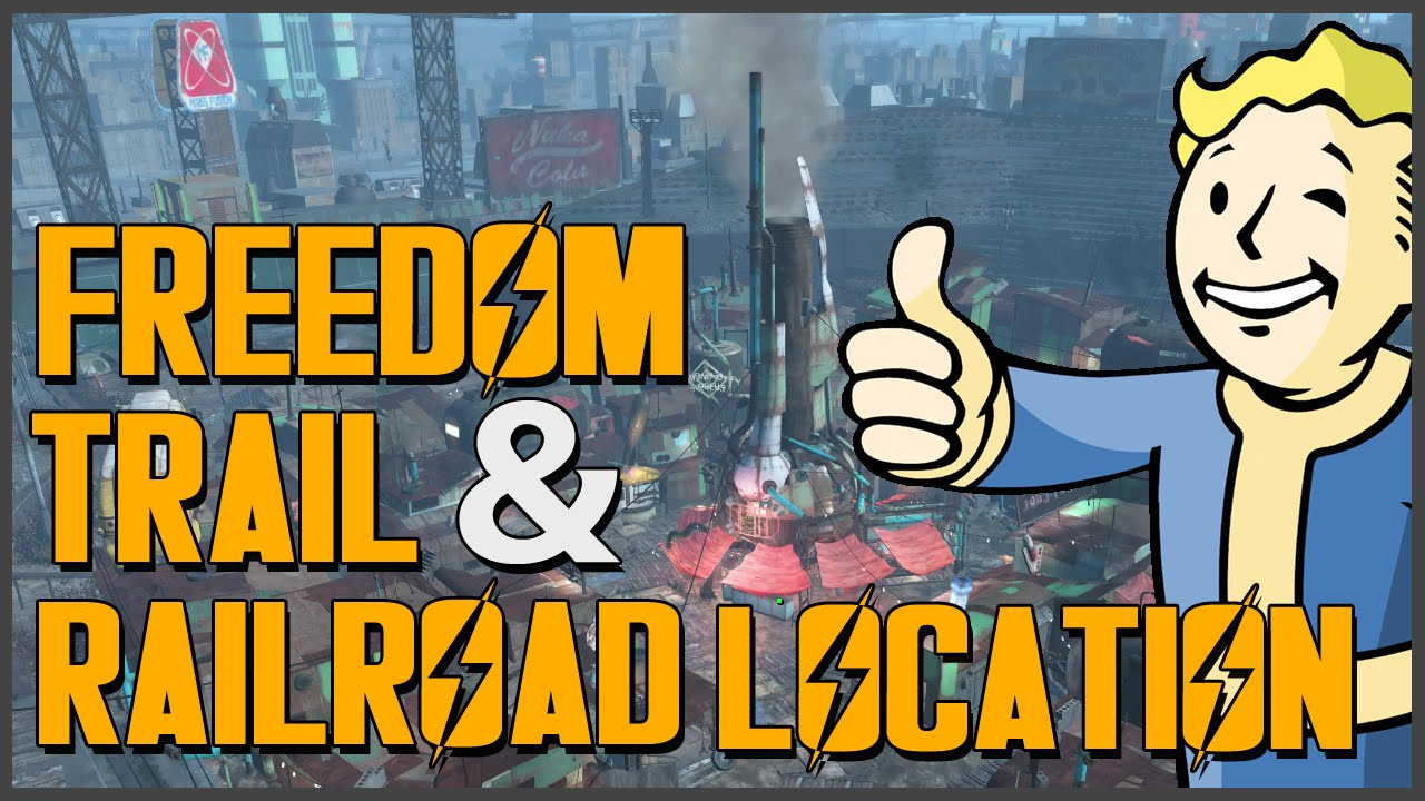 fallout 4 how to find the railroad freedom trail location youtube