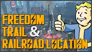 Fallout 4: How to find the Railroad (Freedom Trail Location)