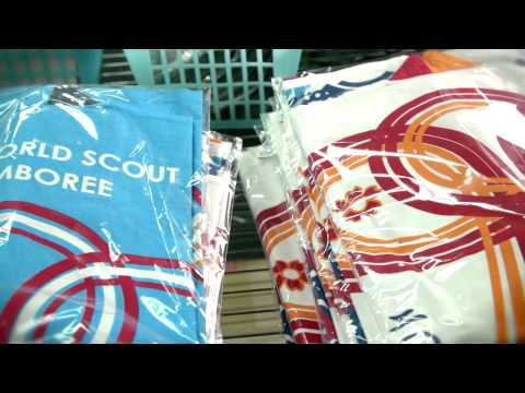 World Scout Jamboree Scout Shop Promotional Video - YouTube