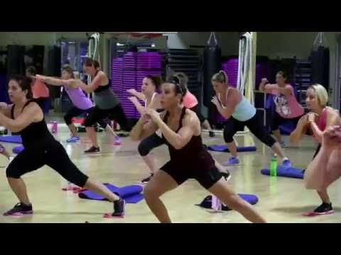 Cathe Friedrich's Total Body Band and Glide Live Workout