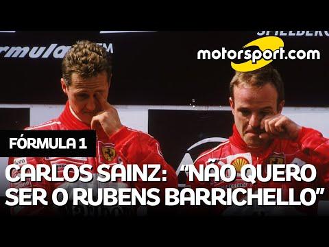 F1: SAINZ ridicularizou BARRICHELLO? Entenda CONTEXTO da declaração do espanhol sobre brasileiro
