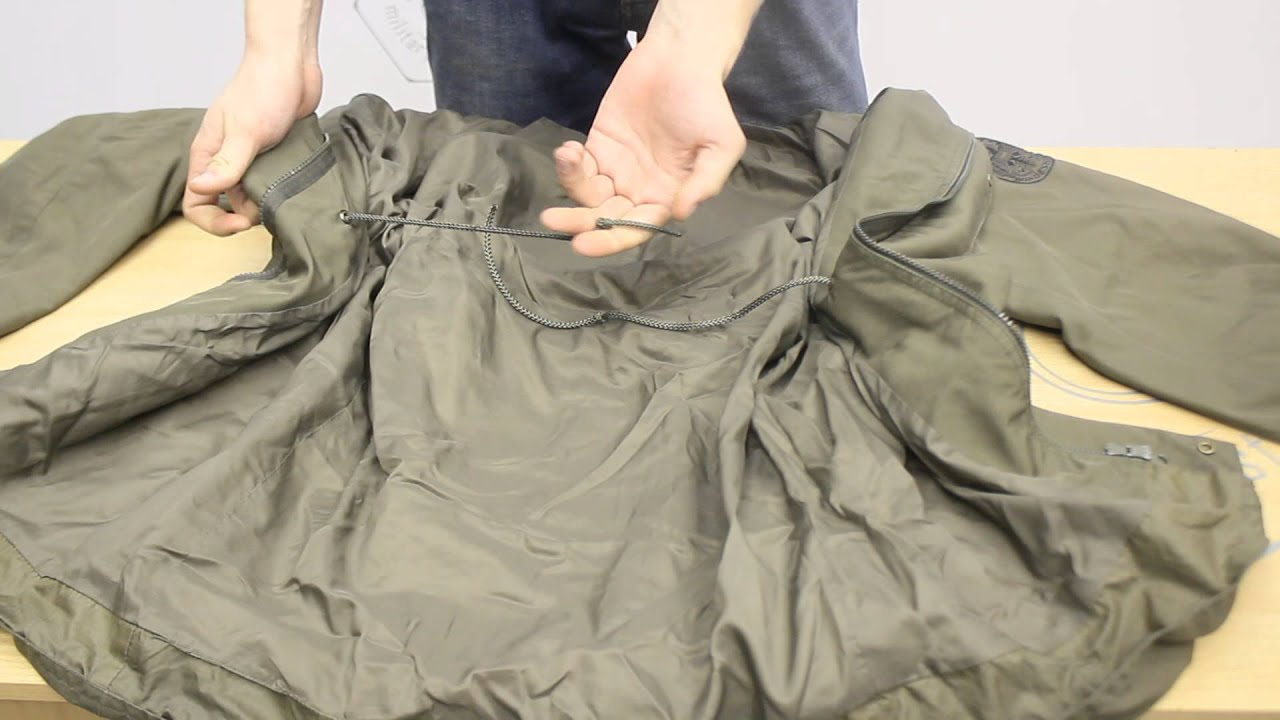 Полевая куртка бундесвера, молескин / Программа