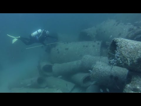 Scuba Diving Volusia County Site 11 SSW Deposit (V11-13SSW3)