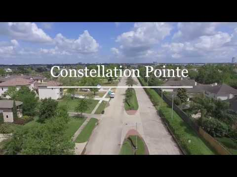 Clear Lake Waterfront Home for Sale in League City, Texas DJI Phantom Drone Real Estate Tour