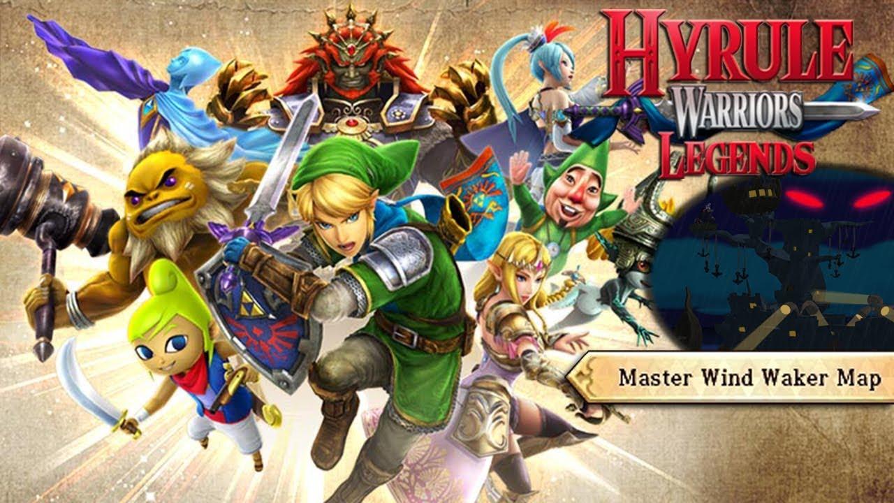 1 Unsealing The Master Sword Hyrule Warriors Legends 100 Youtube