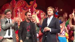 "Video The Beatles Paul and Ringo Surprise everyone at Cirque 10th anniversary 'Love"" show 2016  Awesome! download MP3, 3GP, MP4, WEBM, AVI, FLV Juli 2018"