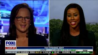 """Fox Business """"Evening Edit"""" Discussion Regarding the Attack On Police In America"""