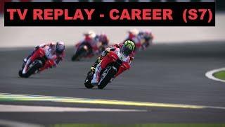 MotoGP Mod 2018 | Career #115 | LE MANS | Race 5/18 | TV REPLAY GAME