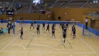 2017クラブカップ女子 予選 松代総合病院VSアパッシュ