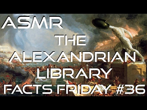 ASMR | What happened to the Library of Alexandria? | Whispered - Zoom H5
